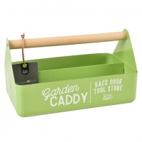 Burgon & Ball Enamel Garden Caddy in Goosebury