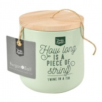 Twine in a Sage Green Tin By Burgon & Ball