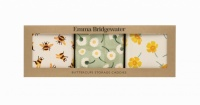 Set of 3 Square Tins Buttercup Print By Emma Bridgewater