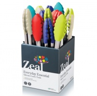Silicone Non Stick Kitchen Tongs By CKS Zeal