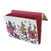 Cambridge Floral Print Expander File By Joules