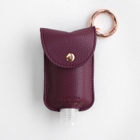 Burgundy Hand Gel Holder By Caroline Gardner