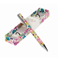 Caroline Gardner Ditsy Print Ball Point Pen Boxed