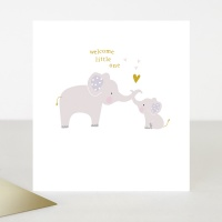 New Baby Card by Caroline Gardner