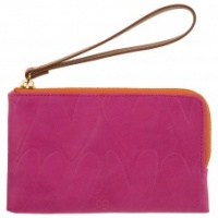 Caroline Gardner Pink Heart Essential Purse