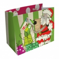 Caroline Gardner Landscape Father Christmas Gift Bag
