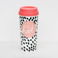 Caroline Gardner Rose Tinted Thermal Travel Cup