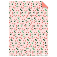Cherry Sprig Print Wrapping Paper by Meri Meri