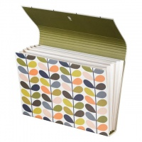Multi Stem Print Expanding Storage File By Orla Kiely