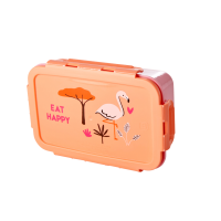 Coral Pink Jungle Print Lunchbox By Rice DK