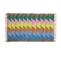 Bright Coloured Handmade Floor Runner By Rice DK