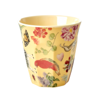 Creme Art Print Melamine Cup By Rice DK