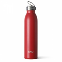 Crimson Red 20oz or 590ml Water Bottle By SWIG