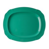 Green Melamine Serving Dish By Rice DK