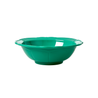 Dark Green New Look Melamine Bowl By Rice DK