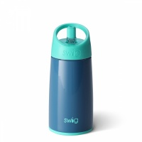 Kids Blue Stainless Steel Water Bottle By Swig