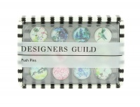 Designer Guild Set of 12 Classic Print Push Pins