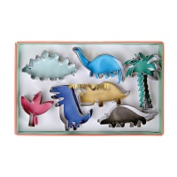 Dinosaur Shaped Cookie Cutters By Meri Meri