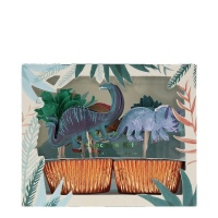 Dinosaur Kingdom Cupcake Kit By Meri Meri