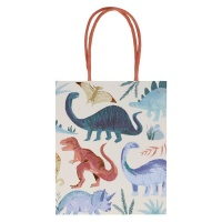 Dinosaur Print Party Bags or Gift Bags By Meri Meri