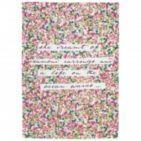 Caroline Gardner Ditsy Print Cotton Tea Towel
