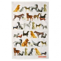 Dog Print Tea Towel Emma Bridgewater