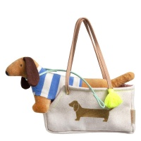 Hank Sausage Dog in a Bag Toy By Meri Meri