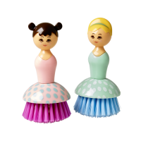 Doll Shaped Dishwashing Brush By Rice DK