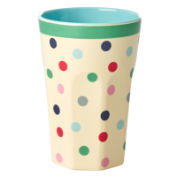 Dot Print Print Melamine Tall Cup By Rice DK