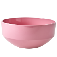 Dusty Pink Large Melamine Bowl By Rice DK