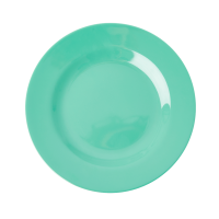 Emerald Green Melamine Side Plate or Kids Plate Rice DK