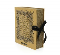 Emma Bridgewater Black Scroll Print Photo Memory Box