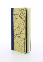 Emma Bridgewater Blue Splatter Print Slim Notebook