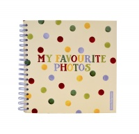 Emma Bridgewater Polka Dot Print Square Photo Album
