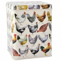 Emma Bridgewater Hen Print Square Caddy