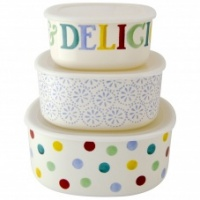Emma Bridgewater Set of 3 Melamine Storage Containers