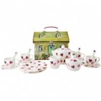 Emma Bridgewater Pink Hearts Childs Melamine Tea set
