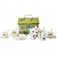 Emma Bridgewater Kids Melamine Polka Dot Tea Set
