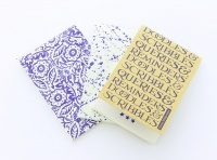 Emma Bridgewater Set of 3 Notebooks Blue Story Print