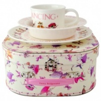 Emma Bridgewater Dancing Mice Melamine Set & Case