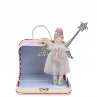 Mini Fairy Doll Called Evie with Suitcase By Meri Meri