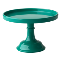 Extra Small Dark Green Melamine Cake Stand By Rice DK