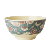 Fall Flower Print Melamine Bowl By Rice DK