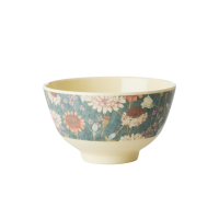 Fall Flower Print Small Melamine Bowl By Rice DK