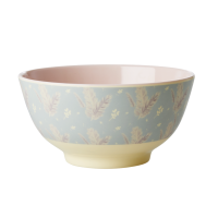 Feather Print Melamine Bowl By Rice DK