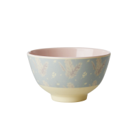 Feather Print Small Melamine Bowl By Rice DK