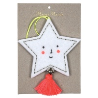 Felt Star Decoration by Meri Meri