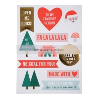 Festive Gift Stickers By Meri Meri
