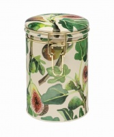Fig Print Clip Lid Caddy By Emma Bridgewater