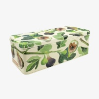 Fig Print Long Deep Storage Tin By Emma Bridgewater